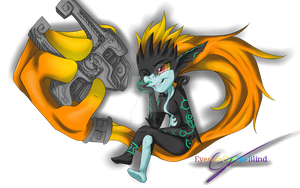 Twilight Princess - Midna by EyesoreForTheBlind