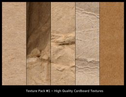 Cardboard Texture Pack by vek-a
