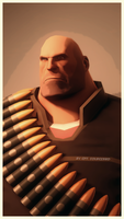 The Heavy Weapons Guy by Cpt-Sourcebird