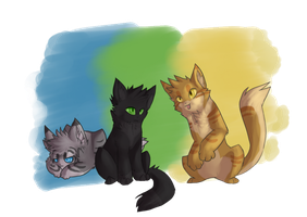 the original three by ask-jay-feather
