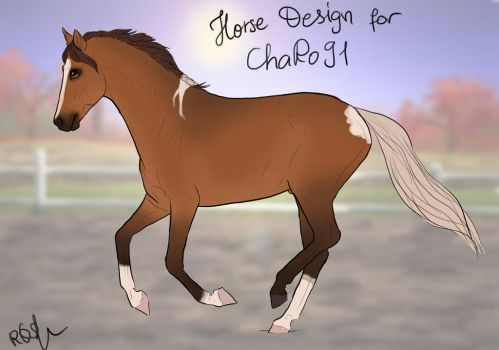 Horse Design for ChaRo91 by RQsf