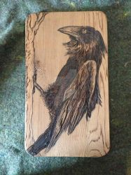 Wood Raven by Billy-OCEAN-pi