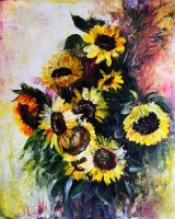 sunflowers by AnyaMorrison