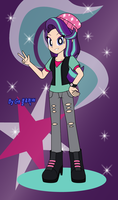 My little pony-Equestria girls: Starlight Glimmer by Bluepicture070881