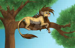Tree relaxing by CheeonyStar