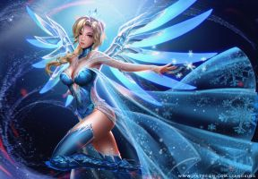Snow Queen Mercy by Liang-Xing