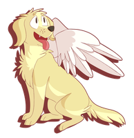 And A Chica In Angel Wings by Sorrelheart