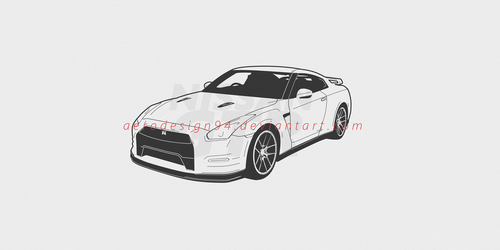 Nissan r35 GTR by AeroDesign94