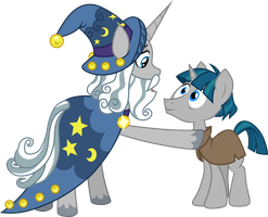 Starswirl and Stygian by CloudyGlow
