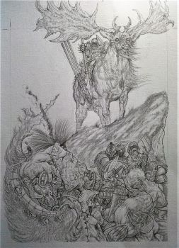 Rage - Slaine Tryout Page 5 Pencils