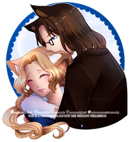 C: Kitty Ear Nibble + Speedpaint by RumCandyAdopt