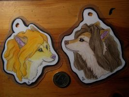 Keychain commissions  3 by SnowPain
