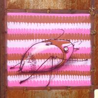 pink bug by feik-graffiti