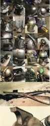 Fallout inspired Clone Trooper helmet by HelloThisIsAngle