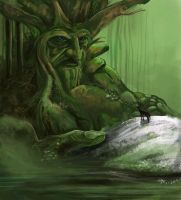 Forest God by sweethaven