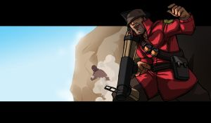 TF2: Soldier by Erikonil