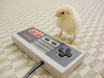 Retro Gamer Chick by ScythicKitty