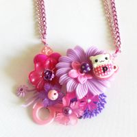 Cup of Hamster Necklace by AndyGlamasaurus
