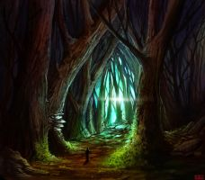 Forest Cathedral by kovah