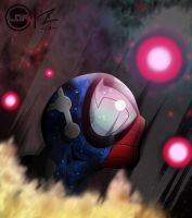 Cosmic Spider-Man by Romeo-L
