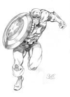 Captain America by Spears by markman777