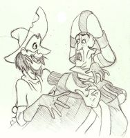 Clopin and Frollo by SuperRamen