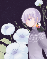 APH Iceland with flowers by WestFlow