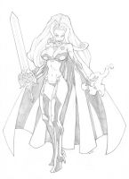 Lady Death by mikebowden