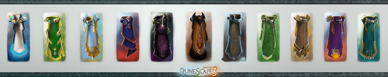 Rs SkillCapes Level99 Epicness  VOL II by RS-LegendArts