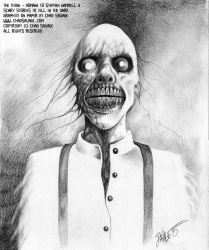 The Thing - Homage to Stephen Gammell by SavageSinister