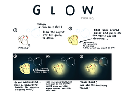 Glowing Tutorial by pikaira
