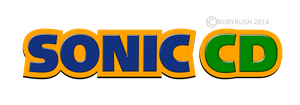 Sonic CD Logo Remade by NuryRush
