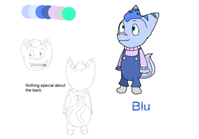 Blu (Ref sheet) by CyanDraggon