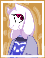 Pixel Toriel by ShadyTheDragoness