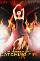 The Hunger Games: Catching Fire - Movie Poster by LightningBella