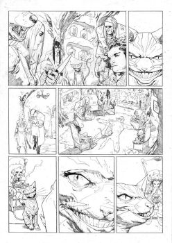 WEIRDING WILLOWS Page 4 BARNABY BAGENDA by DeevElliott