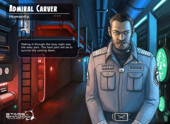 Stars in Shadow: Admiral Carver by AriochIV