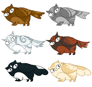 Meowl Adopts SOLD OUT by RiverSpirit456