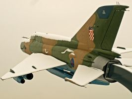 Mig 21 stock by siscanin