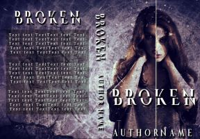 Broken Book Cover ( SOLD!) by liviapaixao