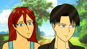 A Summer's Day (Modern AU) // AOT by SweetScarletSky