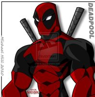 DEADPOOL COLORED by icemaxx1