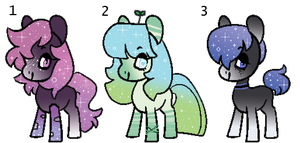 Sparkle Kids - Cheap MLP Auction - CLOSED by CHEESE-CHEDDAR