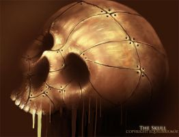 The skull by equilibrium3e