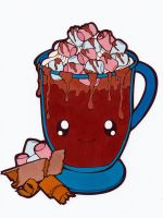 Dessertie - Hot Chocolate Colored by Maiko-Girl