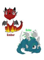Ember and Echo by Major-Ren