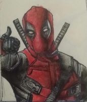 Deadpool Sketch by GamerZzon