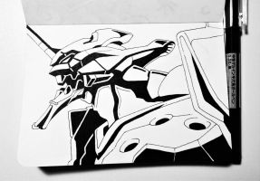 Evangelion Unit 01 because why not. by MaxPaucar92