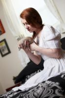 Rebecca and Her Rat by BlackRoomPhoto