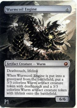 Wurmcoil Engine, altered(extended) artwork by Phil-Monk